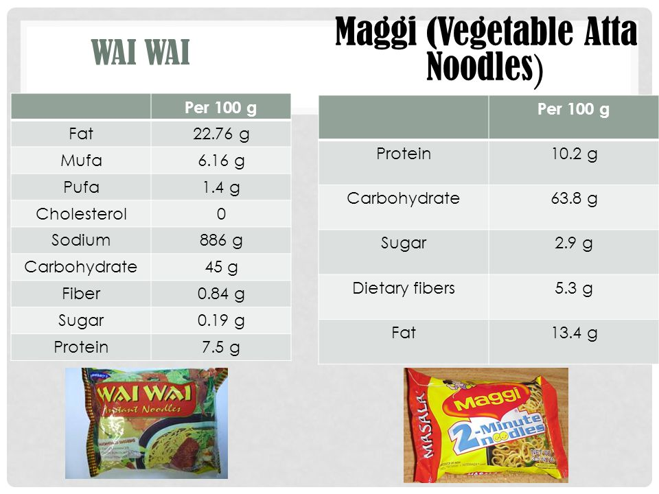 Maggi (Vegetable Atta Noodles)