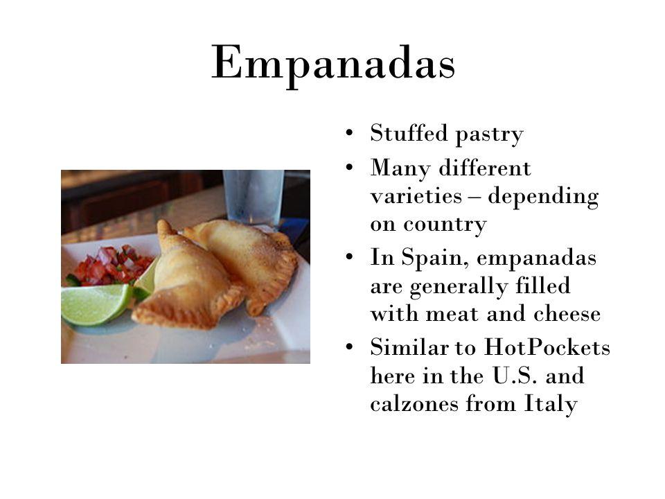Empanadas Stuffed pastry