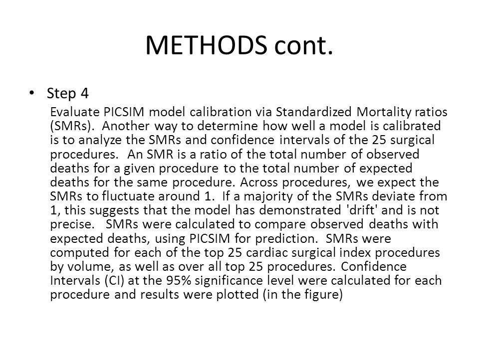 METHODS cont. Step 4.