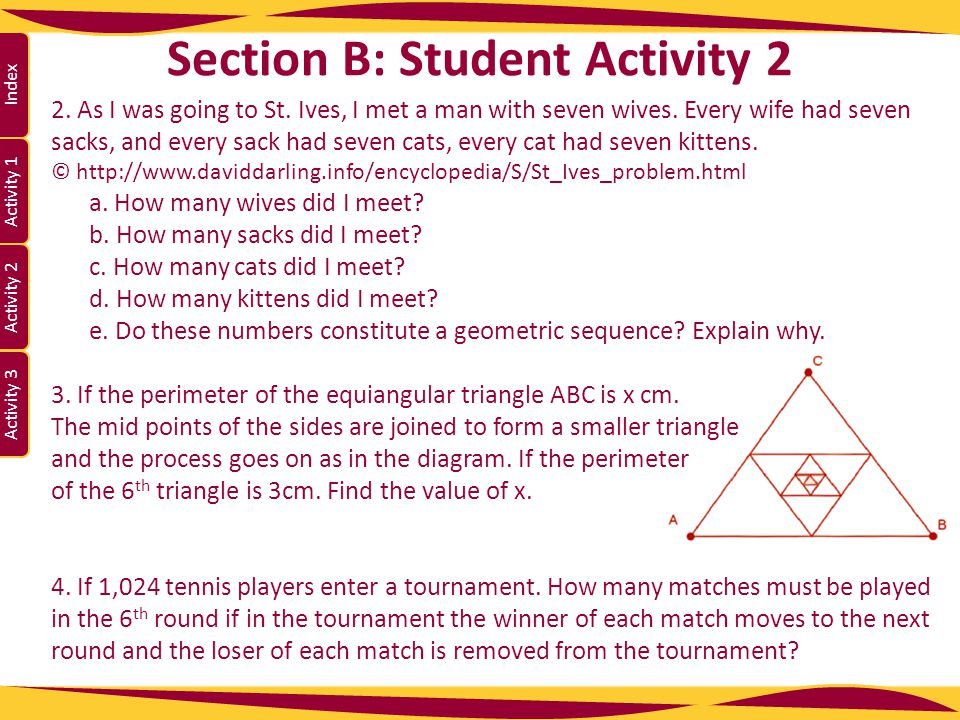 Section B: Student Activity 2