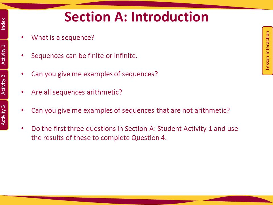Section A: Introduction