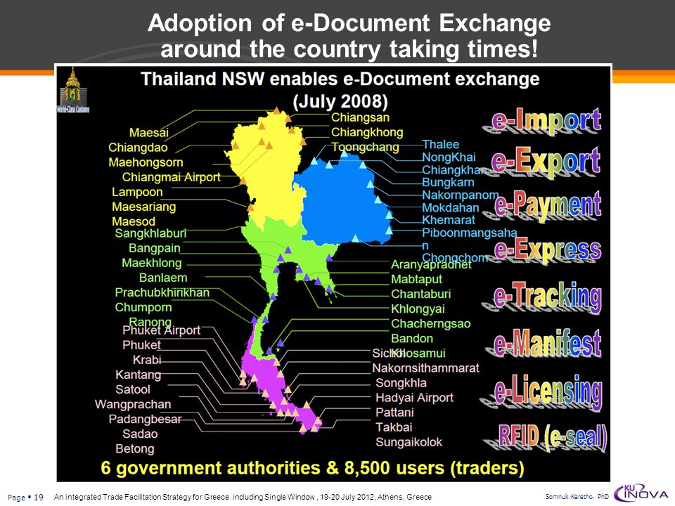 Adoption of e-Document Exchange around the country taking times!