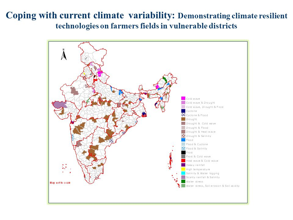 Coping with current climate variability: Demonstrating climate resilient technologies on farmers fields in vulnerable districts