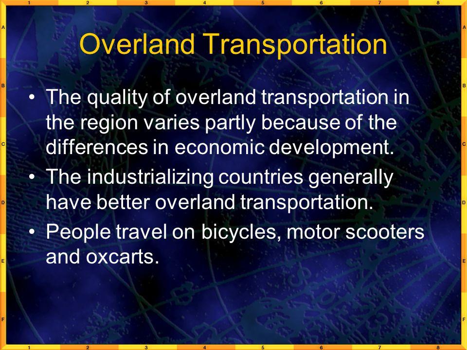 Overland Transportation