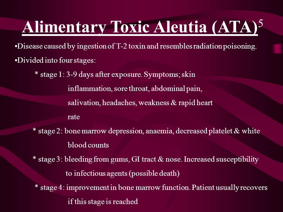 Alimentary Toxic Aleutia (ATA)5