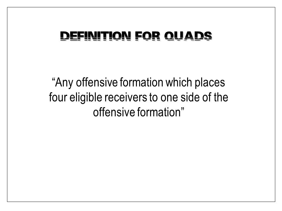 Definition for Quads