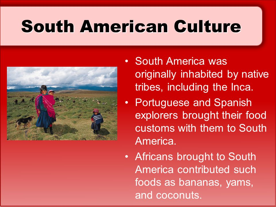 dating culture in south america The topic of hispanic dating has grown in importance as the people and their culture intermingles around the globe within the united states, it is the fastest growing racial minority with an increase of over 60% between the 1990 and 2000 us census data collections the same data also demonstrated .