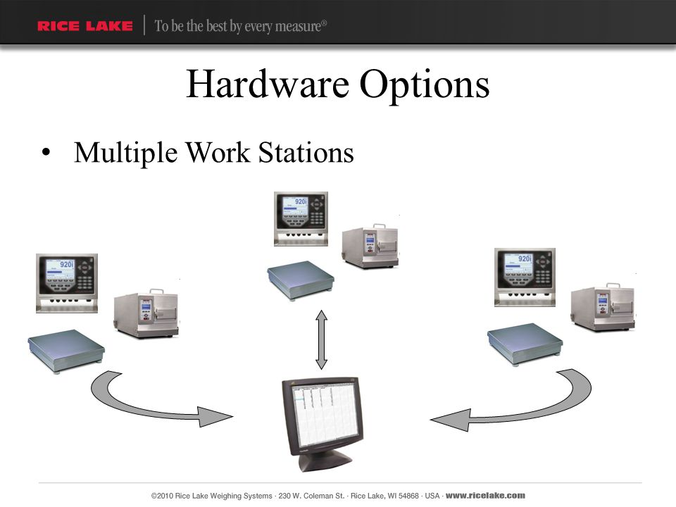 Hardware Options Multiple Work Stations