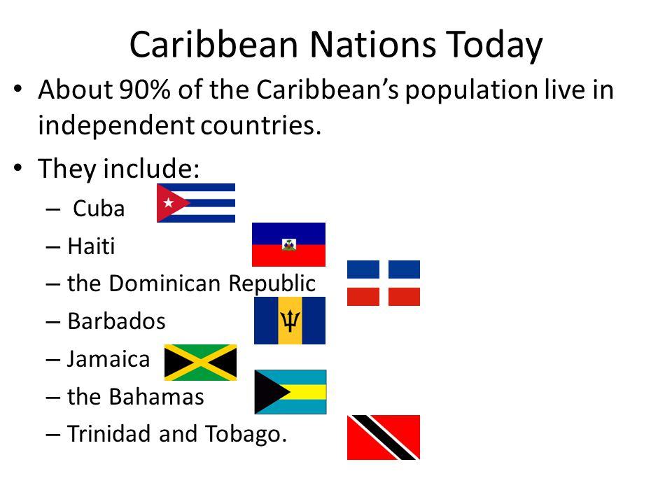 Caribbean Nations Today