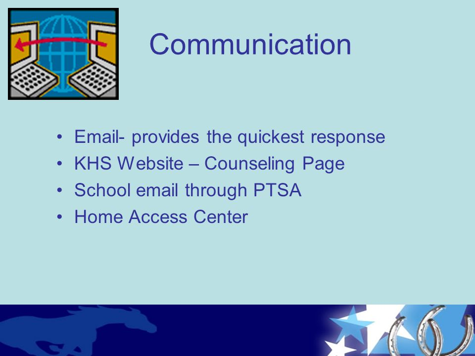 Communication Email- provides the quickest response