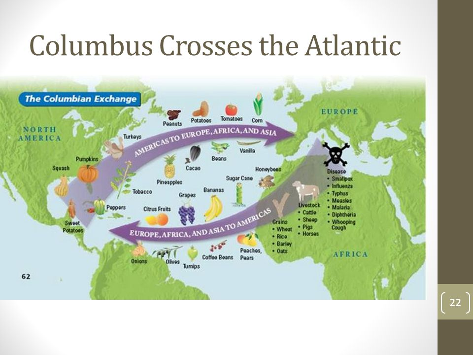 Columbus Crosses the Atlantic