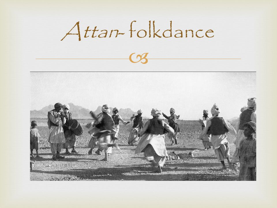 Attan- folkdance