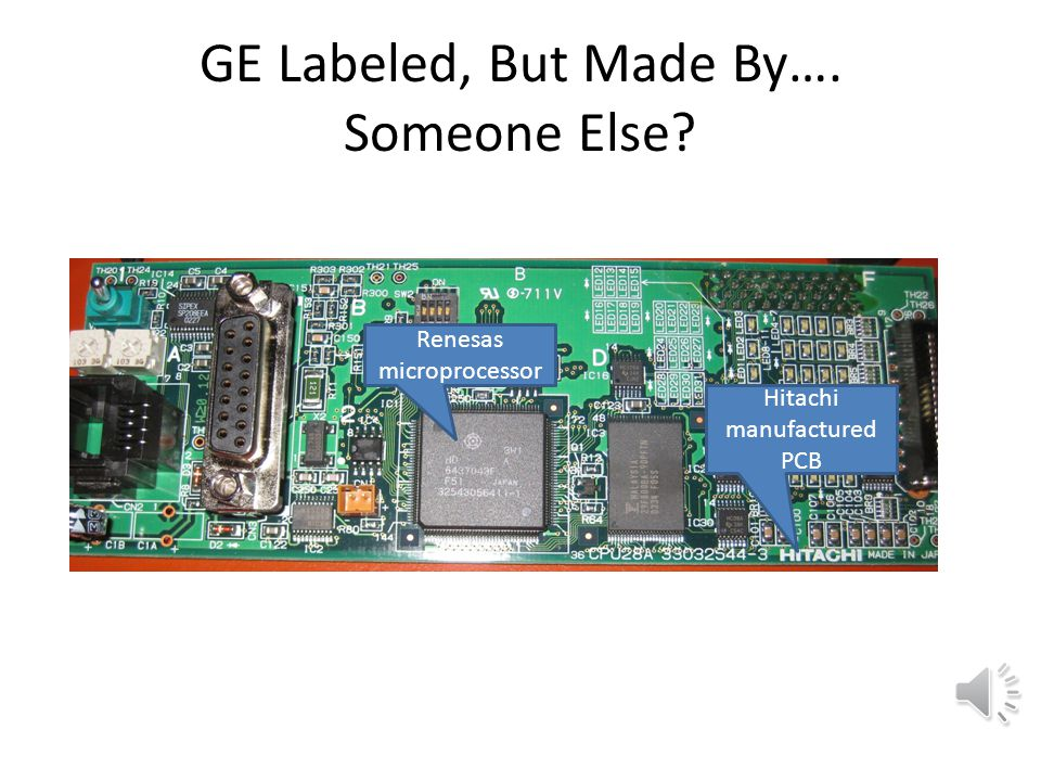 GE Labeled, But Made By…. Someone Else