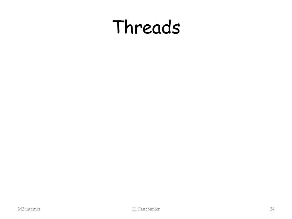 Threads M2 internet H. Fauconnier