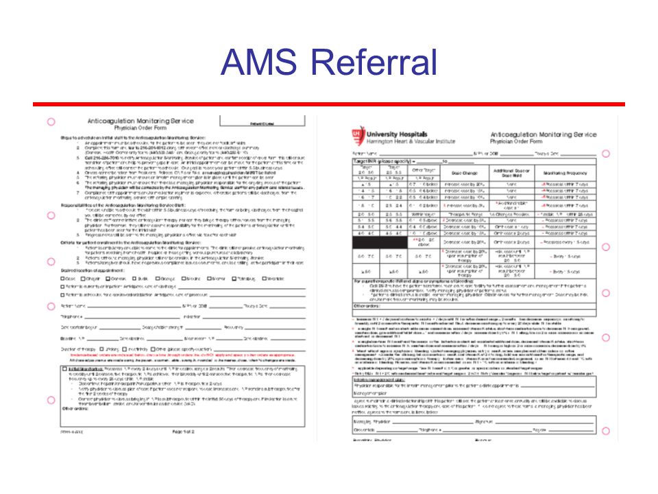 AMS Referral