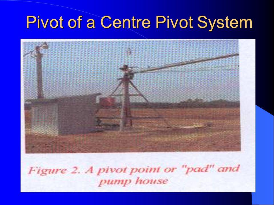Pivot of a Centre Pivot System