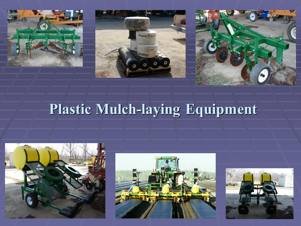 Plastic Mulch-laying Equipment