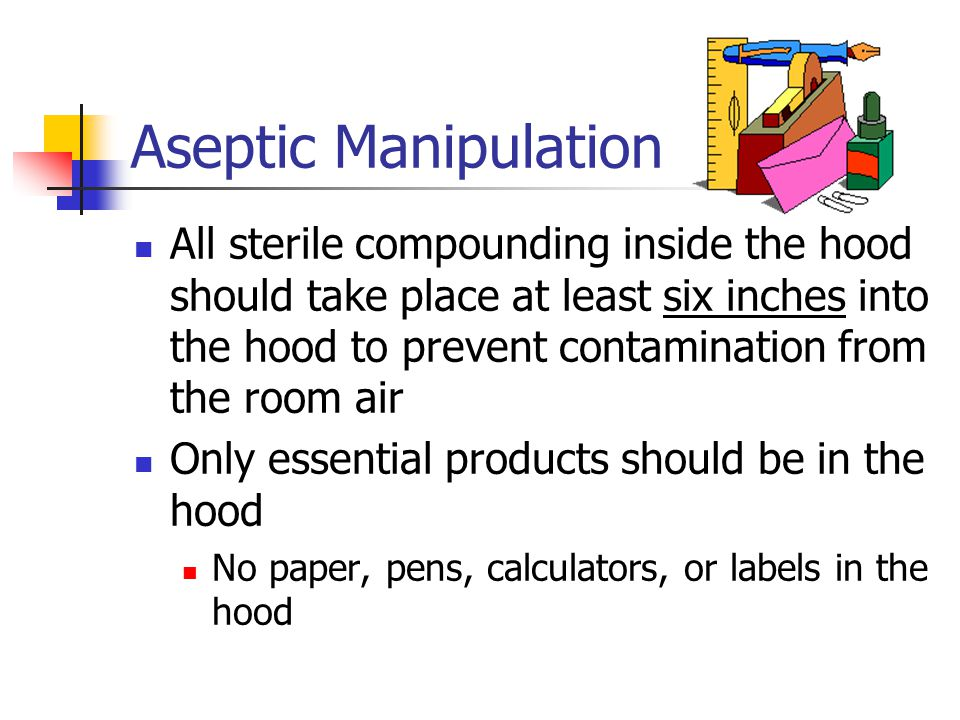 Aseptic Manipulation