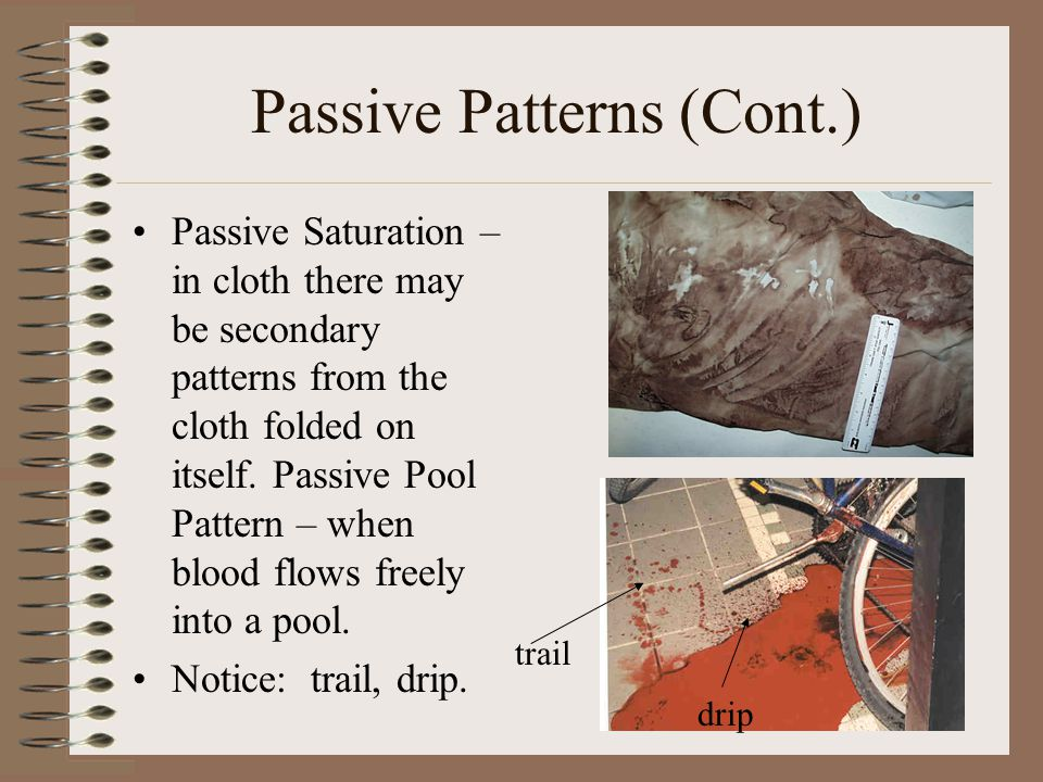 Passive Patterns (Cont.)