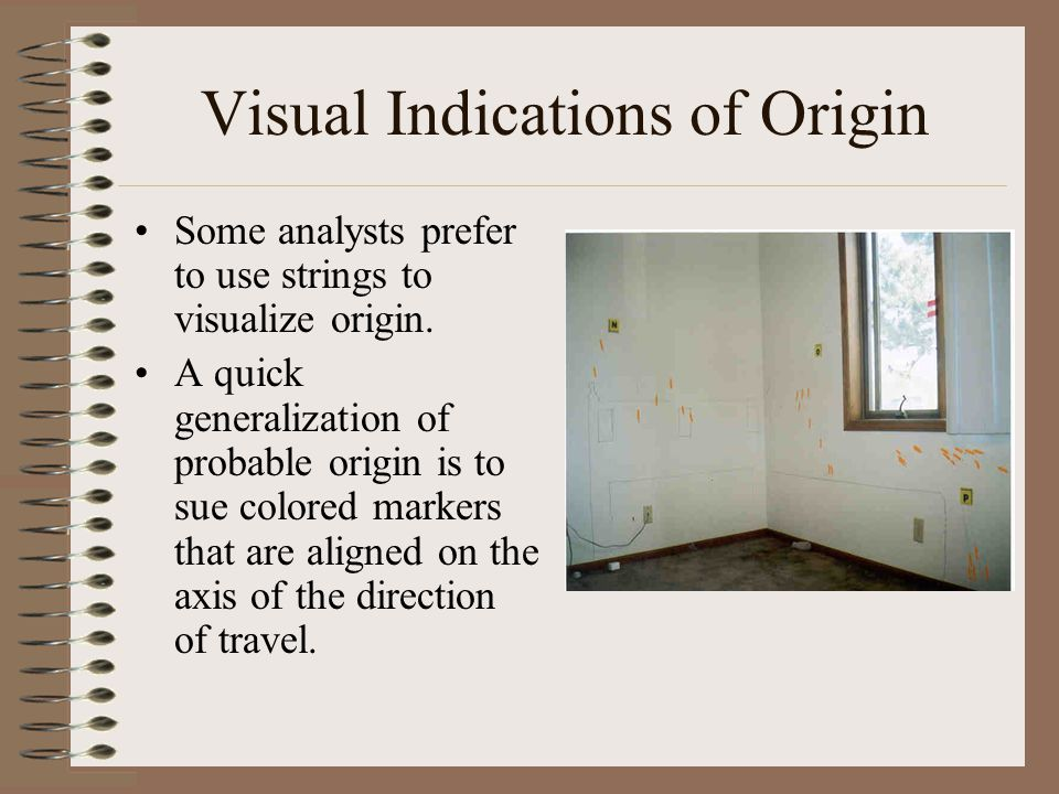 Visual Indications of Origin