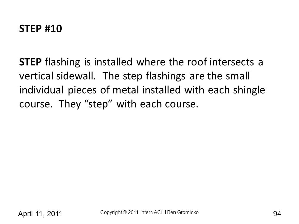 STEP #10