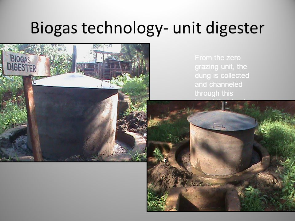 Biogas technology- unit digester