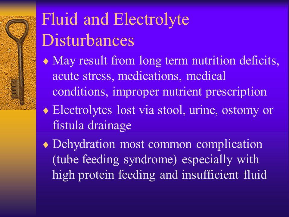 Fluid and Electrolyte Disturbances