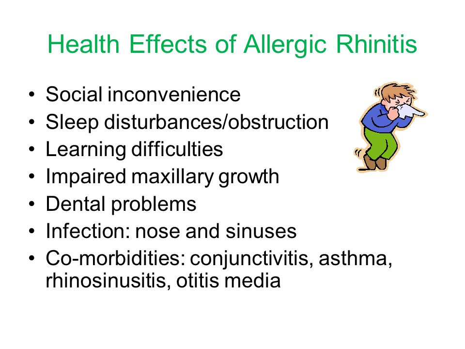 Health Effects of Allergic Rhinitis