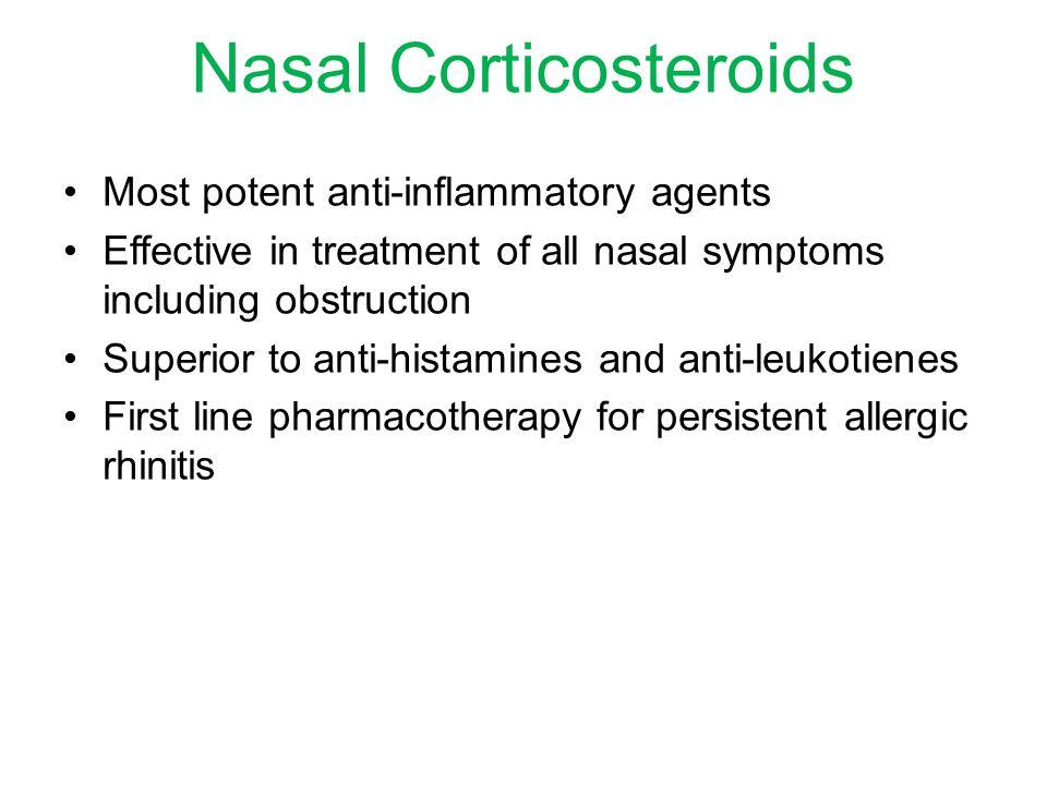 Nasal Corticosteroids