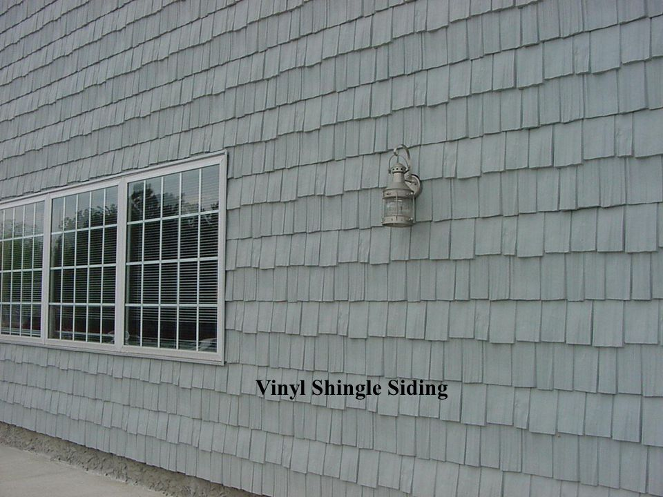 Vinyl Shingle Siding
