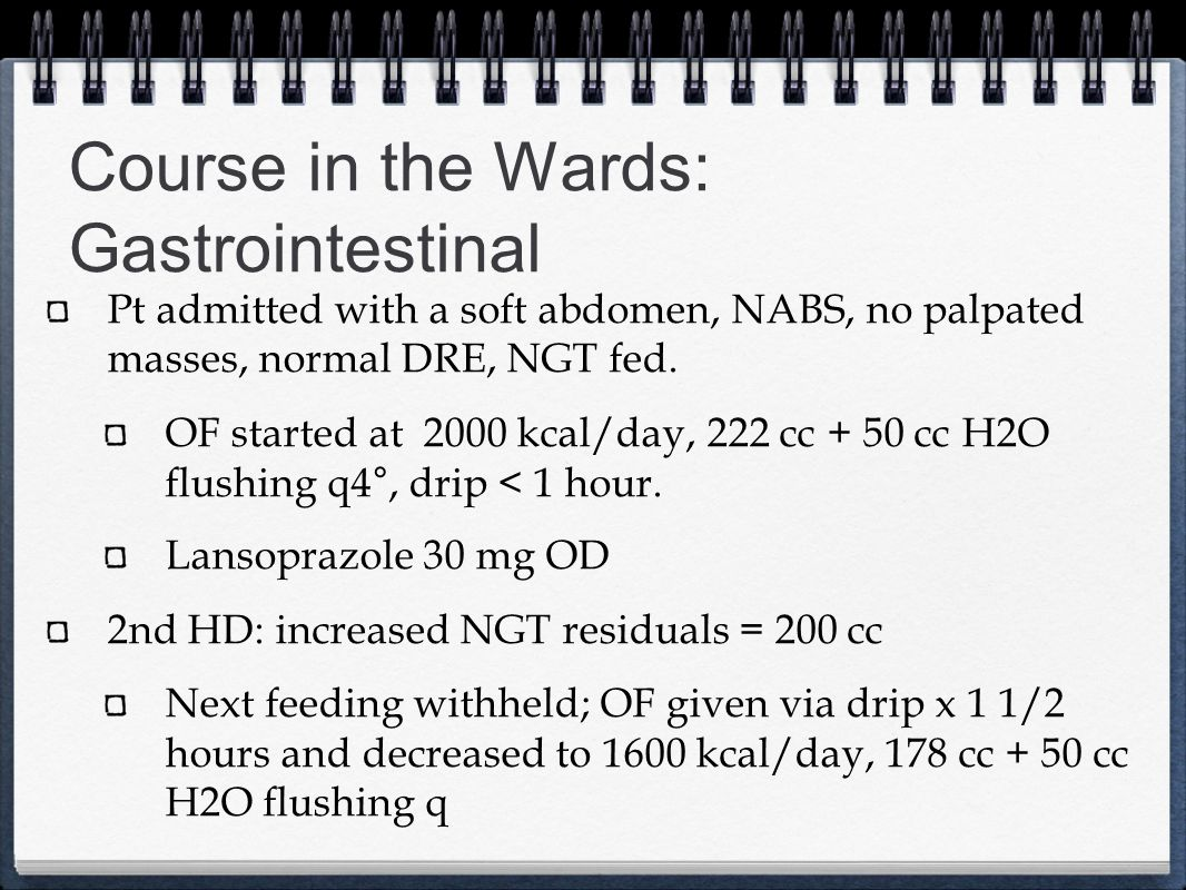 Course in the Wards: Gastrointestinal