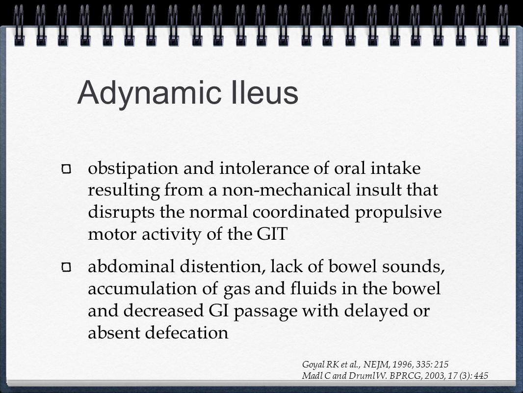 Adynamic Ileus