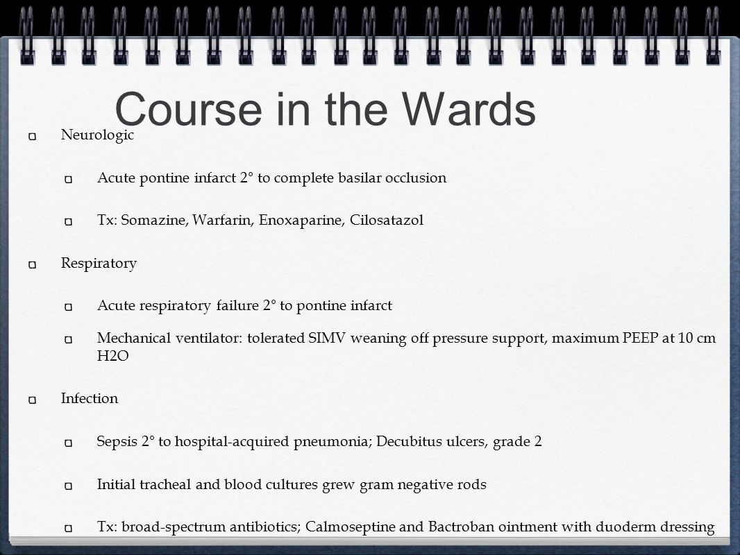 Course in the Wards Neurologic