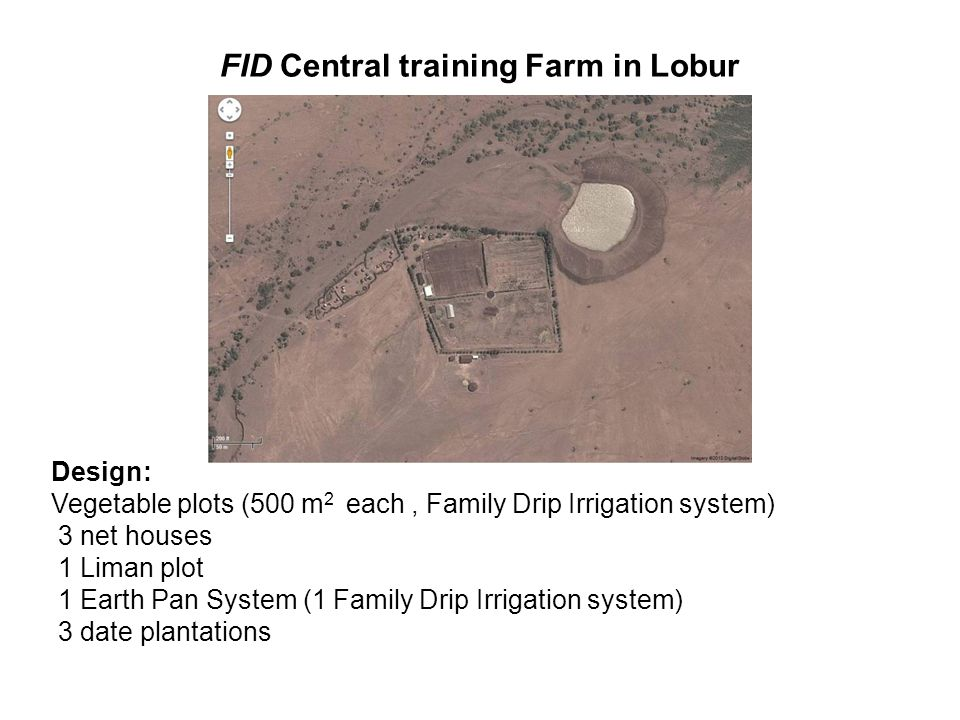 FID Central training Farm in Lobur