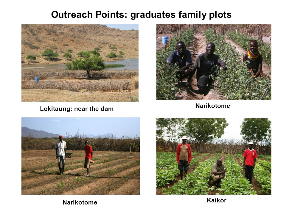 Outreach Points: graduates family plots