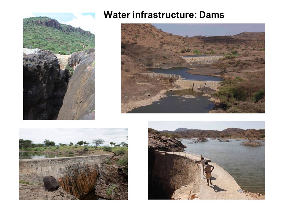 Water infrastructure: Dams