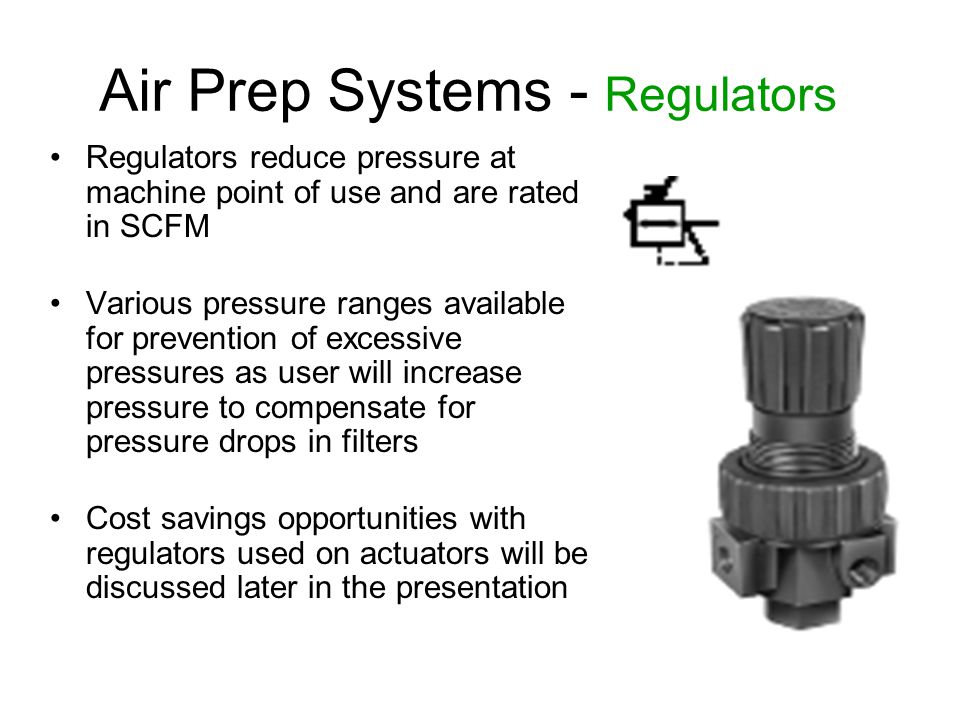 Air Prep Systems - Regulators