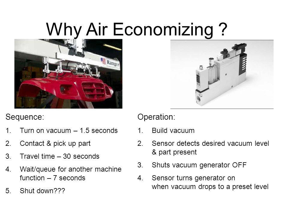 Why Air Economizing Sequence: Operation: