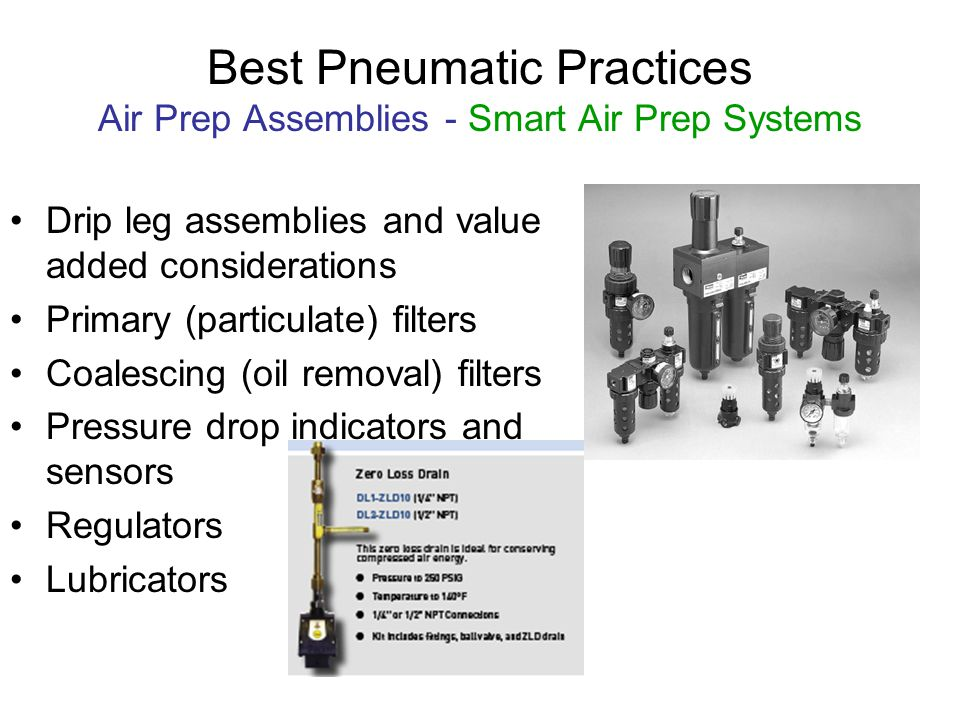 Best Pneumatic Practices Air Prep Assemblies - Smart Air Prep Systems