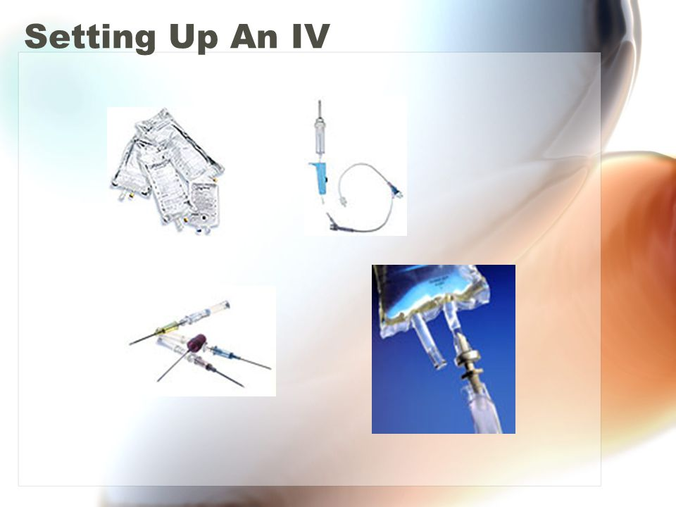 Setting Up An IV