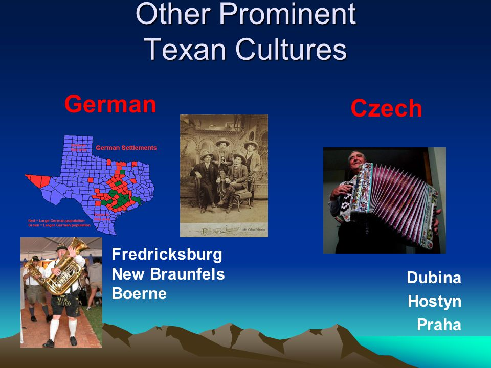 Other Prominent Texan Cultures