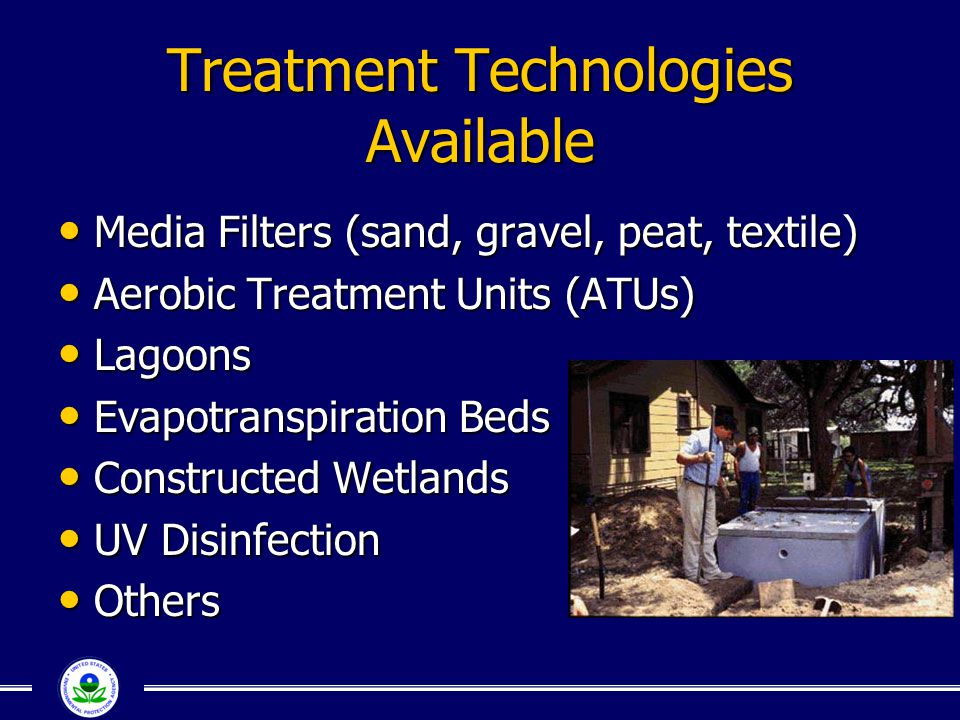 Treatment Technologies Available