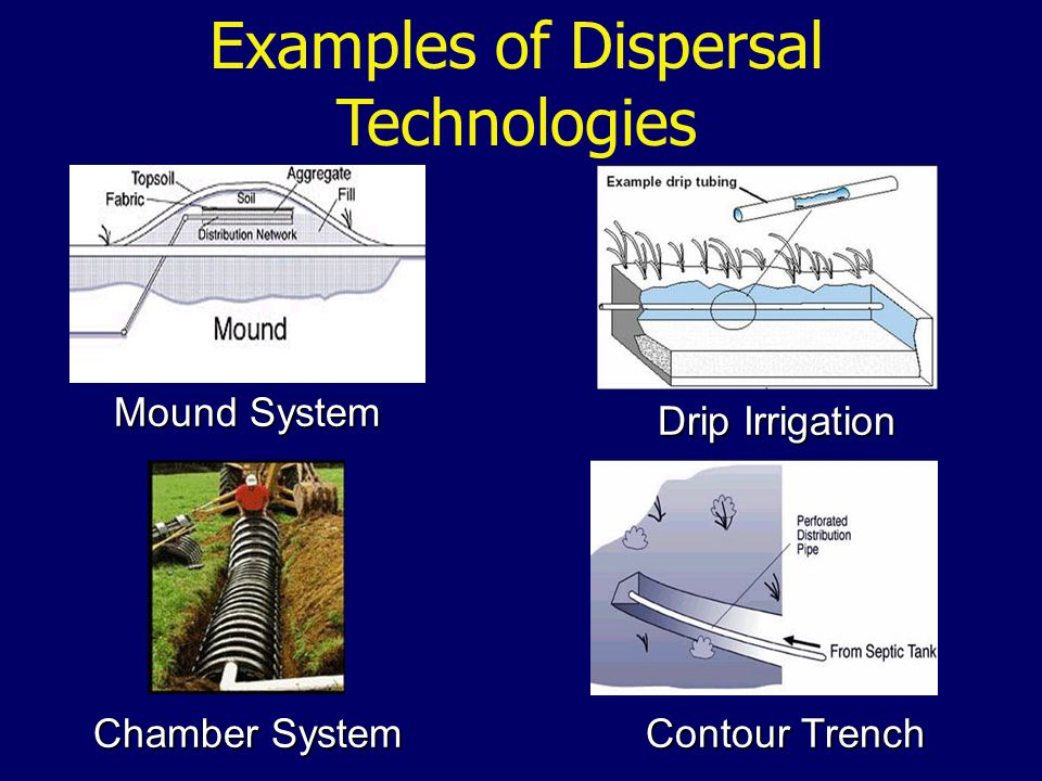 Examples of Dispersal Technologies