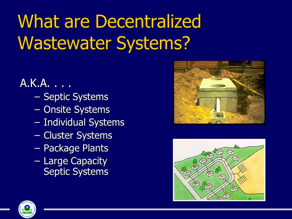 What are Decentralized Wastewater Systems