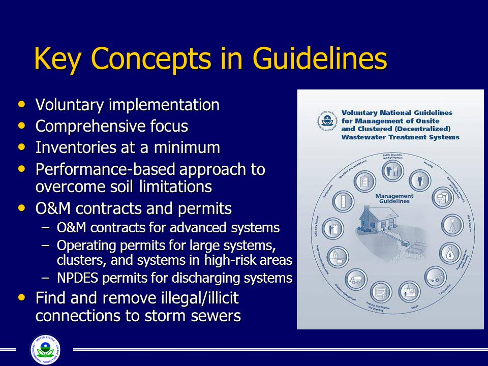 Key Concepts in Guidelines