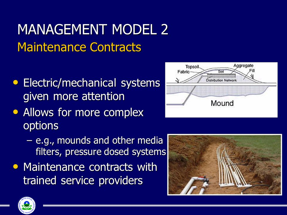 MANAGEMENT MODEL 2 Maintenance Contracts