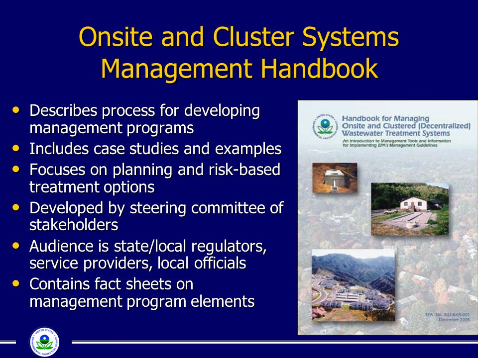 Onsite and Cluster Systems Management Handbook