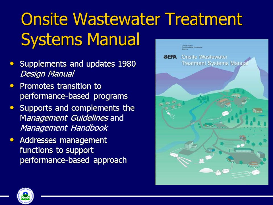 Onsite Wastewater Treatment Systems Manual