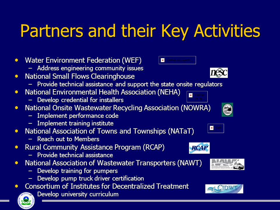Partners and their Key Activities
