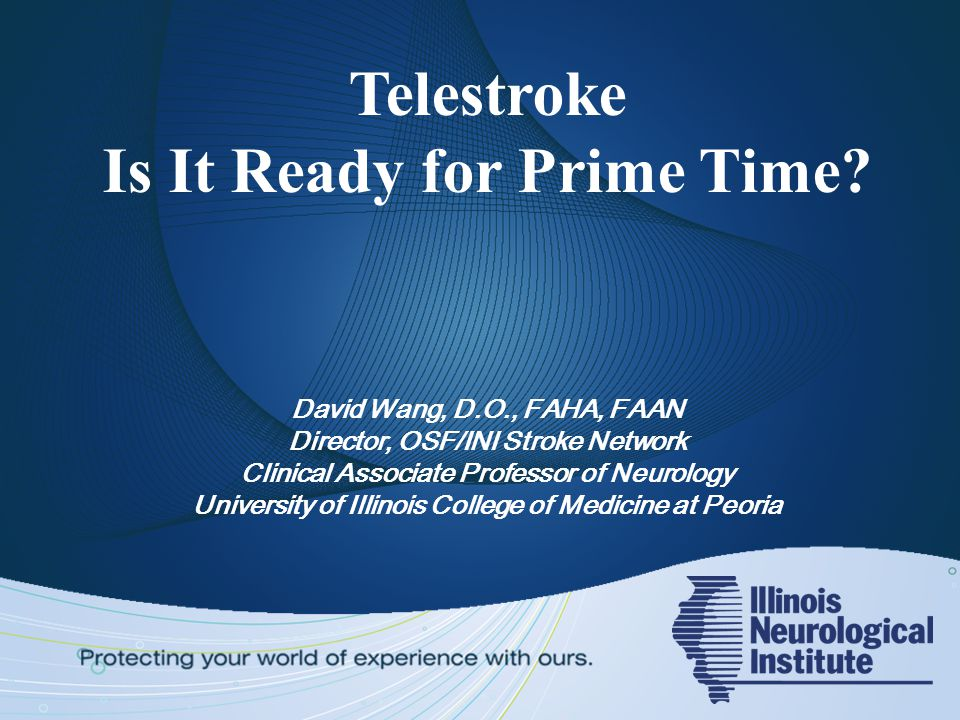 Telestroke Is It Ready for Prime Time